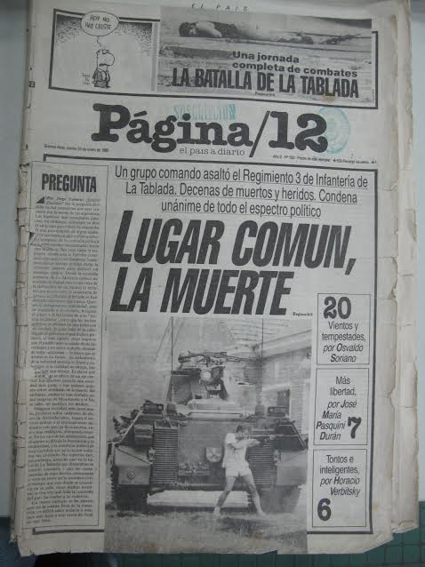 Los días de La Tablada