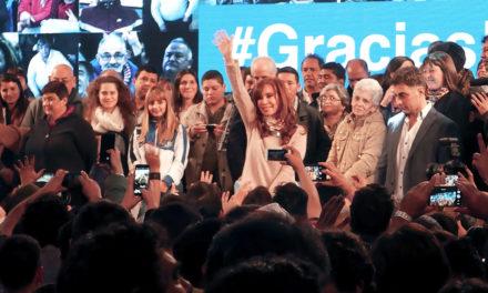 CFK ganó por más de 50.000 votos