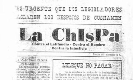 Así despojaron a los mapuches de Cushamen
