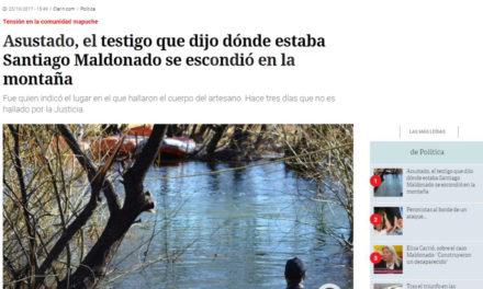 """Clarín y la operación """"Testigo E"""""""