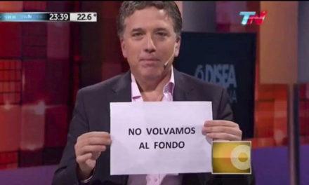 Macri pidió el salvavidas de plomo