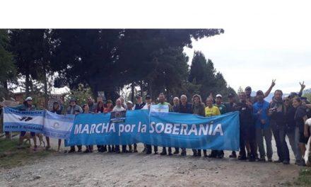 Agresiones contra la Marcha al Lago Escondido