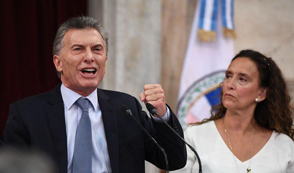 Macri o el discurso de un dios fallado