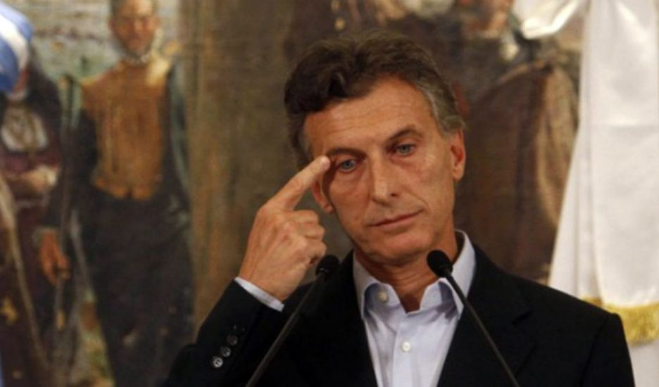 ¡Basta de Macri!