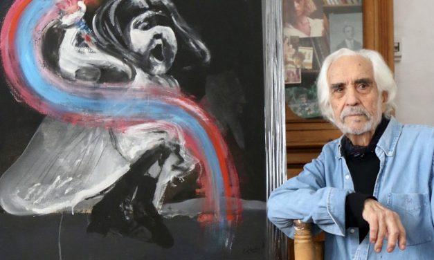 """""""Con la democracia puedo volver a pintar personas"""""""