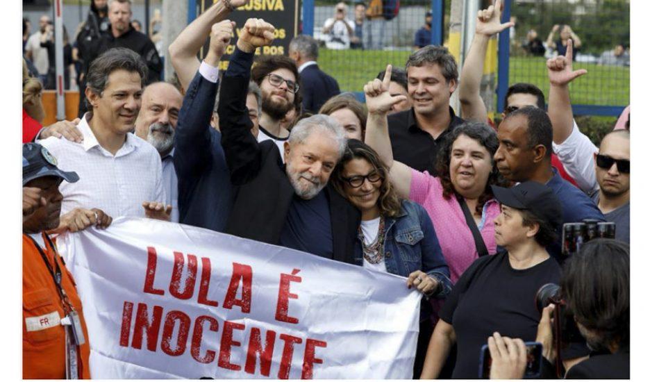 Lula, cuerpo a cuerpo con Bolsonaro
