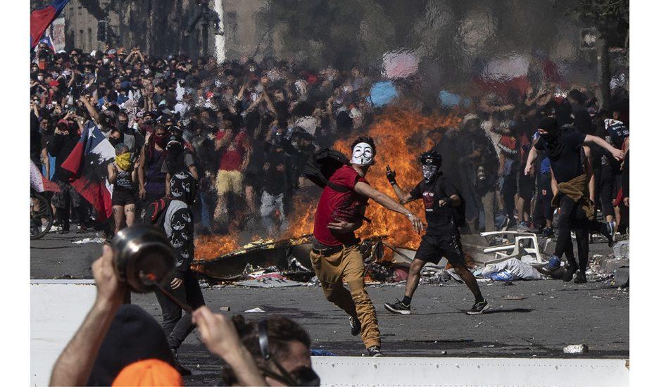 El paraíso neoliberal en llamas