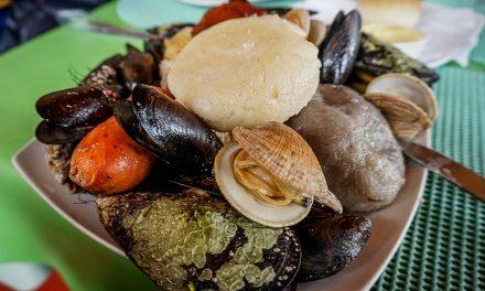 Teta de monja, chancho y chabones del mar