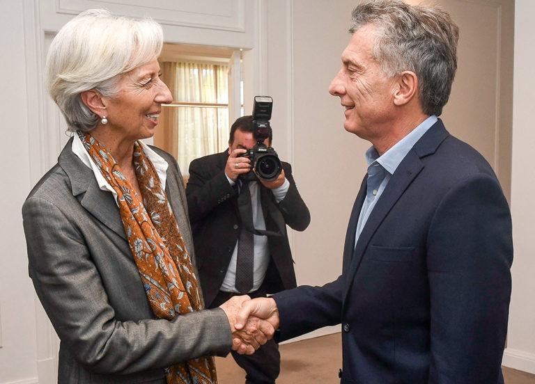El FMI, Macri, la deuda y la fuga.