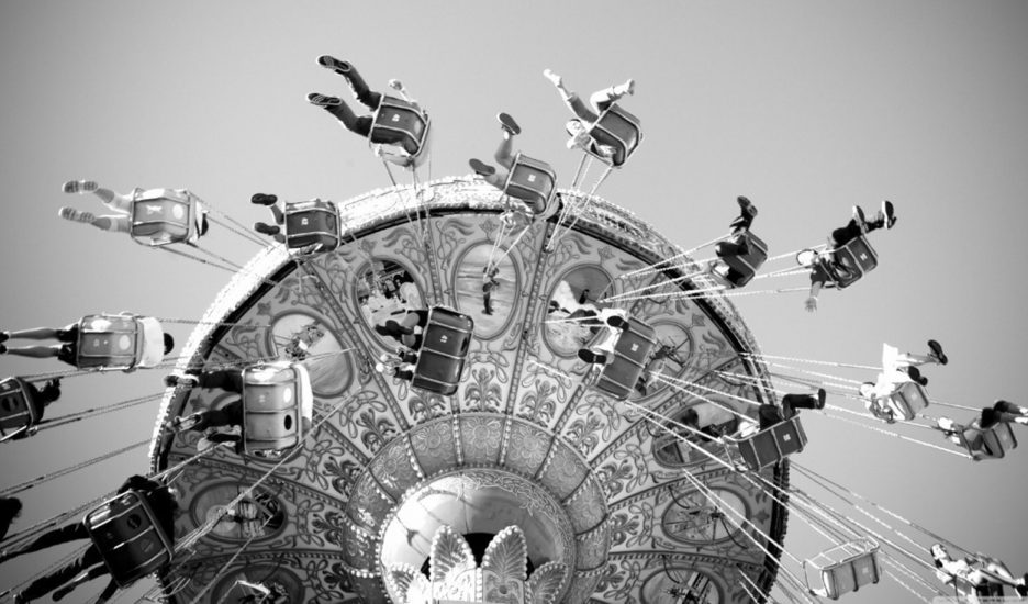 Las hamacas voladoras