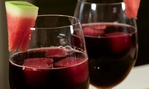 Lo del vino con sandía es fake… es