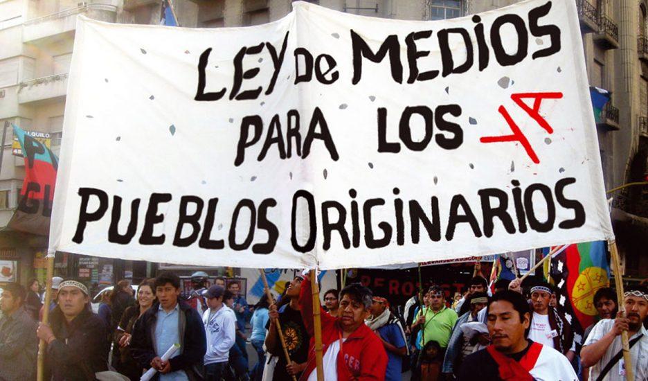 Pueblos originarios, medios y discriminación