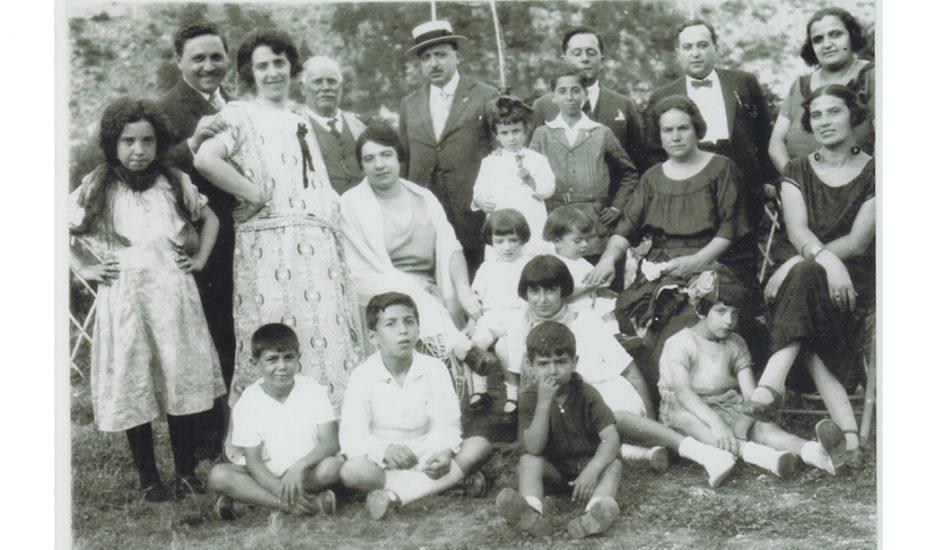 Una familia entre Roma y Buenos Aires