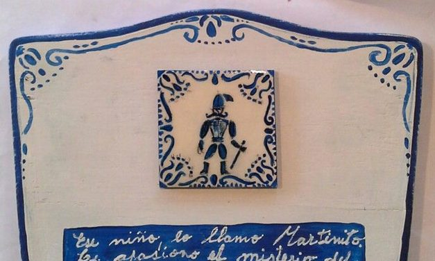 El hombrecito del azulejo