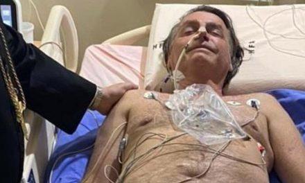 El cuerpo de Bolsonaro