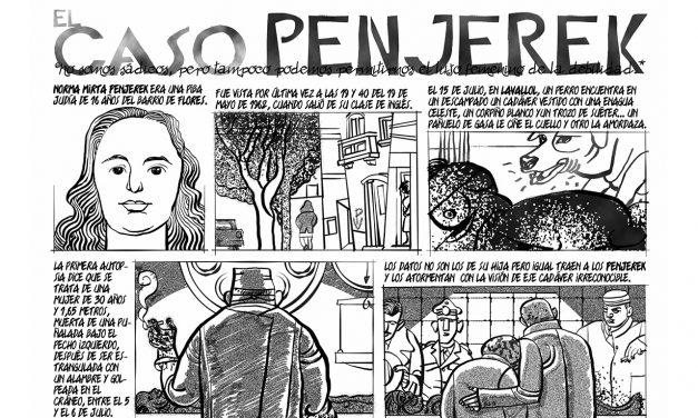 Caso Penjerek, femicidio y trata de personas
